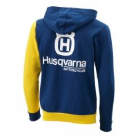 HANORAC HUSQVARNA ASYMETRIC ZIP HOODIE