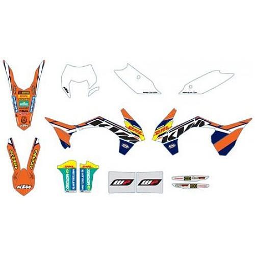Kit Stickere KTM Factory 2014-2016