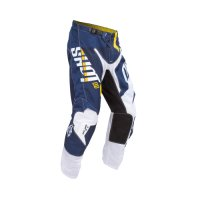 PANTALONI SHOT FLEXOR SYSTEM YELLOW-BLUE HUSQVARNA FACTORY