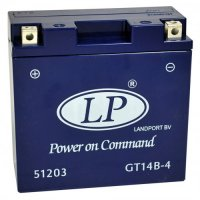 Baterie Landport GT14B-4 12V 12Ah maintenance-free 150X69X145