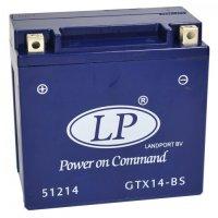 Baterie Landpot  GEL GTX14-BS 12V 12Ah maintenance-free 152X88X147