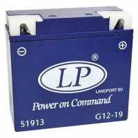 Baterie Landport gel battery 12V 19Ah 182X82X170 BMW Maintenance-free