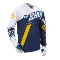 TRICOU SHOT FLEXOR SYSTEM BLUE YELLOW HUSQVARNA FACTORY