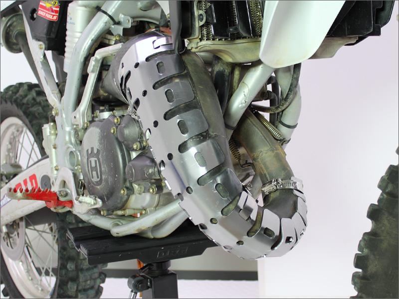 protectie rezonator aluminiu ktm