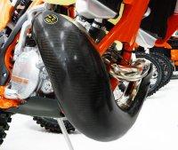 Protectie rezonator KTM 250/300 EXC 2017-2018 Carbon