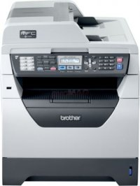 Brother MFC-8380DN / 8520DN RFB, 64MB RAM, 30ppm, 1200x1200dpi, Printer, Scanner, Fax , Copier , DADF, Duplex, LAN
