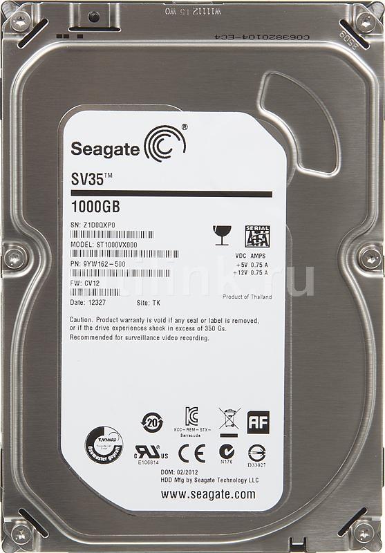 HDD  1TB 7200 64M S-ATA3 'SV35' SEAGATE (ST1000VX000)