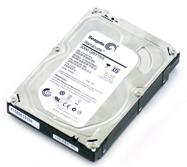 HDD 3TB 7200 64M S-ATA3 'ST3000' SEAGATE (ST3000DM001)