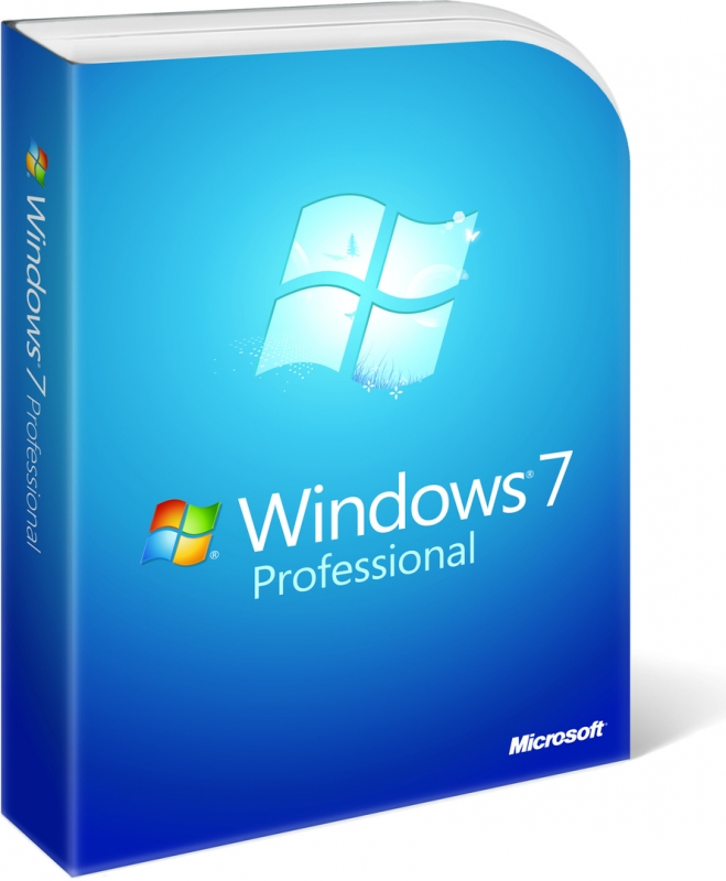 Windows 7 Professional SP1 64 bit ENG OEM (FQC-08289)