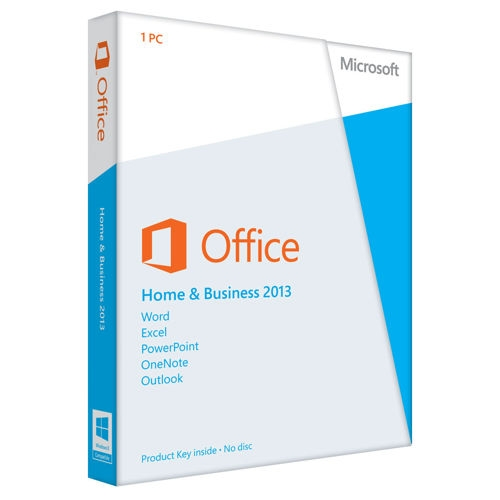 Microsoft Office 2013 Home & Business EN (T5D-01574)