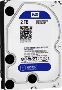 HDD 2TB  5400 64M S-ATA3 '4TRZ' WD (WD20EZRZ)