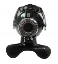 Camera Web cu microfon GEMBIRD (CAM67U), USB 2.0, senzor 1/5' CMOS, rezolutie video: 0.3MP (30fps) si foto: 1.3MP, cu buton SnapShot si baza din cauciuc pentru fixare pe monitor sau laptop, culoare: negru lucios