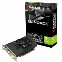 Placa video Biostar GeForce GT740 2048MB DDR3 128B PCI-E3.0 (VN7413THX1)