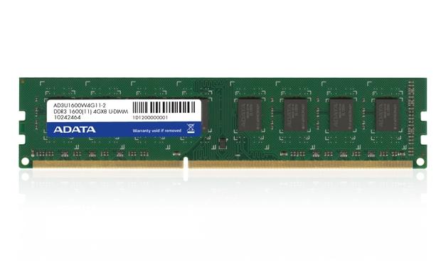 ADATA 4GB DDR3 1600MHz Bulk (AD3U1600W4G11-B)