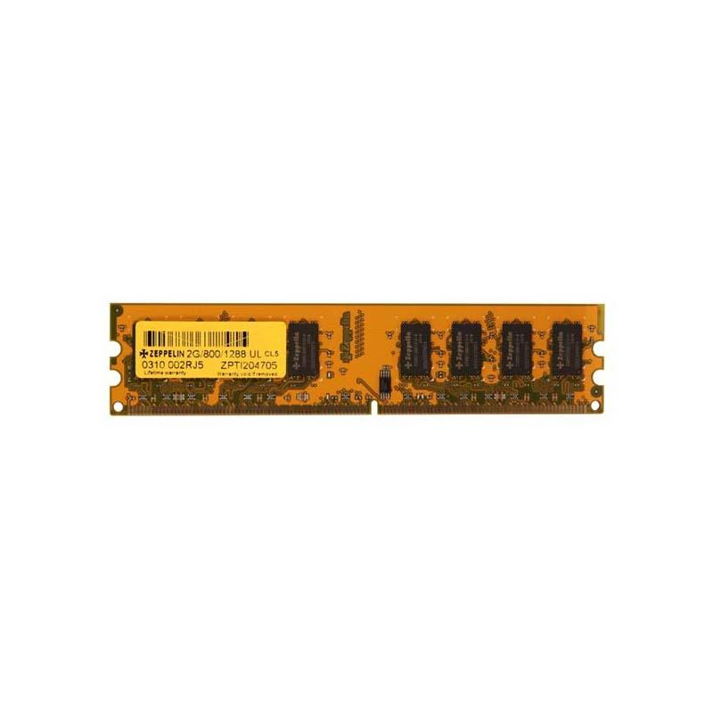 Zeppelin 1GB DDR2 800MHz Bulk (ZE-DDR2-1G800-b)