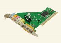 Placa de sunet 5.1, PCI, Game port, LOGILINK (PC0027B)