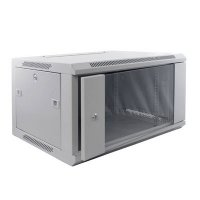 Cabinet metalic Qubs Rack 9U wall mount single section 600x450