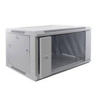 Cabinet metalic Qubs Rack 9U wall mount single section 600x450
