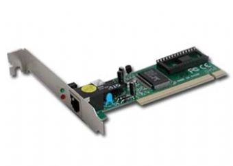 Placa retea PCI 1x RJ-45 100Base-TX 10/100Mbps, chipset Realtek 8139C, cu auto-negociere, full-duplex si wake on LAN, GEMBIRD (NIC-R1)