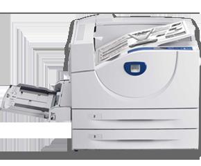 Xerox Phaser 5550N, Imprimanta Laser Mono A3, viteza printare: 50 ppm, rezolutie printare: 1200 X 1200 dpi, memorie 256MB, tava multifunctionala 100 coli, 1000 A3 paper trays, USB, paralel, retea, volum lunar: 300.000 pagini,  consumabil: 106R1294 (35K)