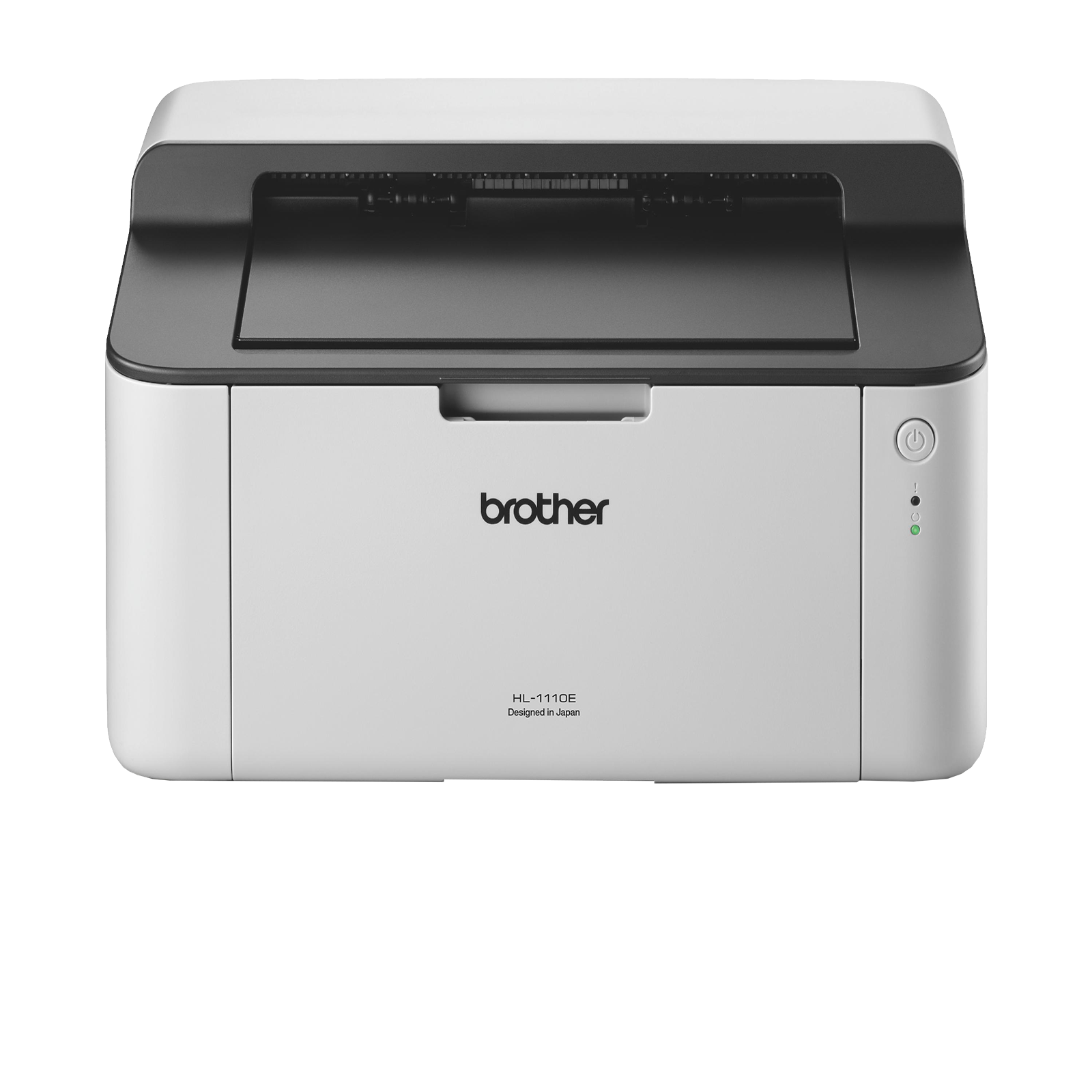 Brother HL1110E, Imprimanta laser mono A4, viteza printare: 20 ppm, rezolutie 600x600 dpi (2400x600 dpi cu Control rezoluţie), memorie 1 MB, fpo 23 sec, tava 150 coli, USB2.0, volum recomandat: 250 - 1800 pagini, volum lunar maxim: 10000 pag, consumabil:
