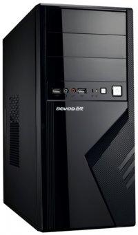 CARCASA Delux,  cu sursa 450W, ATX Mid-Tower, Front USB+Audio, Black (DC875)
