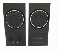 BOXE 2.0 Delux, RMS: 1Wx2, power on/off, control volum, iesire casti, black, USB power (DLS-2013U)