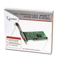 Card PCI 2.1 32-biti Adaptor la 1x Paralel, chipset MCS9835, GEMBIRD (LPC-1)