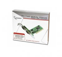 Card PCI 2.1 32-biti Adaptor la 2x Serial, chipset MCS9835, GEMBIRD (SPC-1)