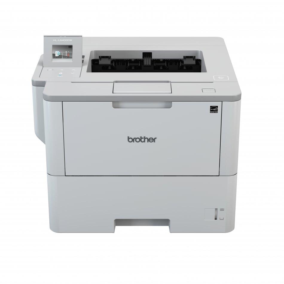 Brother HLL6400DW, Imprimanta laser mono A4, viteza printare: 50 ppm, rezolutie 1200x1200 dpi, fpo 7.5 sec, memorie 512MB, PCL6, BR-Script3 (Postscript®3 Language Emulation), IBM Proprinter XL, Epson FX-850, PDF version 1.7, XPS version 1.0, tavi aliment
