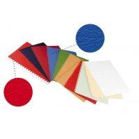 Coperta carton imitatie piele 250g/mo, A4, 100/top OPUS, albastru