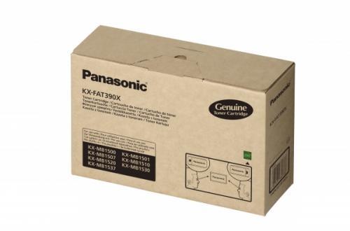 Toner Original pentru Panasonic Negru, compatibil KX-MB15xx, 1500pag (KX-FAT390X)