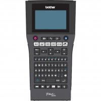 Brother PTH500, ecran LCD luminat cu 16 caractere x 3 linii cu iluminare, viteza 30mm/sec, rezolutie 180dpi/128 puncte, 7 linii de imprimare, max 9 copii, 9 tipuri de coduri de bare, imprimare verticala, rotire imprimare, 99 tipuri de margini, 14 fonturi