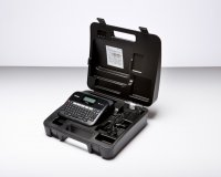Brother PTD450VP, P-touch imprimanta etichete, Desktop,  QWERTZ keyboard,  TZ tapes 3.5 to 18 mm,  Automatic Cutter,  Battery and adapter operation , 1 TZ241,  Adapter,  Carry Case, inlocuitor PT2030VP