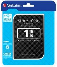 HDD EXTERN 2.5' Verbatim Store 'n' Go USB3.0 1TB gen.2 black (53194)