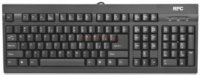 Standard keyboard  104 Keys (US) RPC | PHKB-P615US-AC02A | Cu fir | PS/2 | Negru