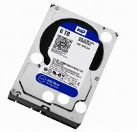 HDD Western Digital, 3.5', 6TB, BLUE, SATA3, 5400rpm, 64MB (WD60EZRZ)