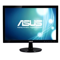 Monitor Asus VS197DE | 18.5 inch, HD, TN, 16:9, WLED, 5 ms, 200 cd/m2, 600:1, VGA, VESA, Black | 36 Luni Garantie