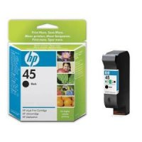 Cartus original HP 45 capacitate mare, 42 ml, aprox. 840 pag / 5% acoperire