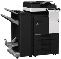 Copiator Konica Minolta Bizhub C227 + Document Feeder DF-628 + Set toner CMYK + masa suport DK-514