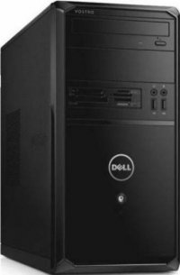 Desktop Dell Vostro 3900 MT, Intel Core i5-4460 (6M Cache, up to 3.40 GHz), Video Intel HD Graphics, RAM 4GB Single Channel DDR3 1600MHz (4GBx1), HDD 500GB 7200 rpm, DVD+/-RW, LAN 10/100/1000, Porturi 2xcasti si microfon/ 1xRJ-45/ 6xUSB2.0/ 2xUSB3.0/ 1xVG