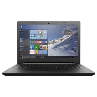 Laptop Lenovo IdeaPad 100-15IBD, 15.6' HD (1366x768), glare, LED-Backlight, Intel Core i3-5005U (2.0GHz, 3MB), video dedicat nVidia GMR-920MX 2GB DDR3L, RAM 4GB DDR3L 1600Mhz (1x4GB), HDD 1TB 5400rpm, SuperMulti DL DVD±RW, Card Reader 4-in-1, Boxa 1x1.5w