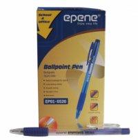 Pix cu mecanism, rubber grip, varf 1.0mm, EPENE - albastru