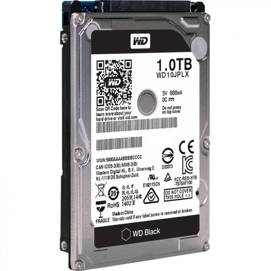 HDD Notebook 2.5'  1TB 7200rpm 32M SATA3 WD (WD10JPLX)