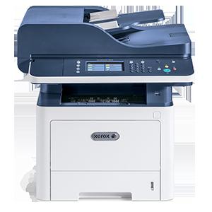 Xerox WorkCentre 3345DNI, A4, 40ppm, 20ppm in DUPLEX, copy/print/scan color retea/fax, RADF 50 coli, 1200x1200dpi, PCL 5 si 6/PS3/PDF, fpo 6,5s, fco 13s, procesor 1GHz, memorie 1,5GB, alim 50+250 coli (max 850), iesire 150 coli, duty 80k/luna, recomandat