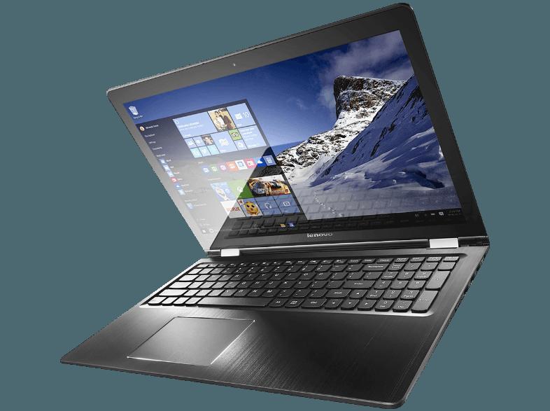reThink | Lenovo Yoga 500-14IB | 14 inch | 1920 x 1080 pixeli | Touchscreen | Intel Core i3 | 5005U | 2 GHz | Capacitate memorie 4 GB | DDR3 | Capacitate Solid State Hybrid 500 GB | Intel HD Graphics | Intel HD Graphics | Wireless 802.11 ac / a / b / g /