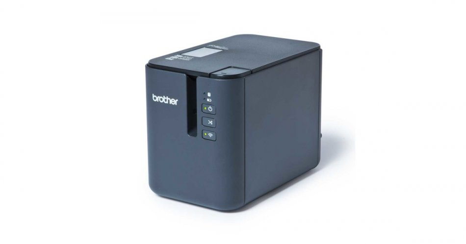 Brother PTP950NW, Desktop, Tze/HG/Hse/FLe tapes 3.5 to 36 mm, High speed up to 60mm/s, Wi-Fi&Wireless, Lan network connection, TDU Option, USB Host, Bluetooth Option, in-box: AC adaptor, AC adaptor power cord, USB cable, User guide, Warranty card, 1x TZE2