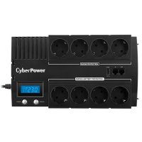 UPS CYBER POWER Brick series II Green Power 720W (1200VA) Line Interactive, AVR, LCD, USB Charger Port (+5VDC), Schuko (BR1200ELCD)