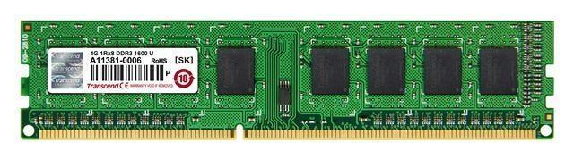 Memorie DIMM DDR3 1600 4096M TRANSCEND