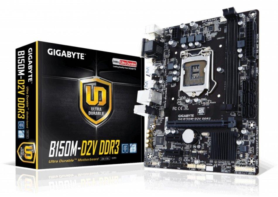 MB skt 1151  INTEL B150M  Gigabyte (B150M-D2V DDR3)